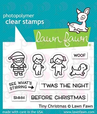 Tiny Christmas - Lawn Fawn Stamp Set