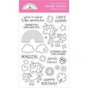 Rainbows & Unicorns - Doodlebug Doodle Stamp