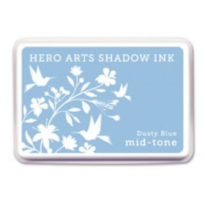 Dusty Blue - Mid Tone - Hero Arts Shadow Ink