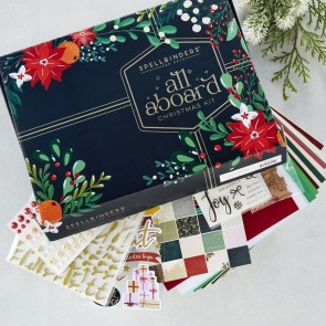 All Aboard Christmas Cardmaking Kit 2021 Limited Edition - Spellbinders