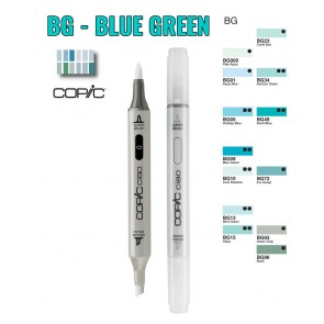 Blue Green - BG - Copic Ciao Markers