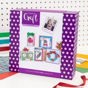 A Year Of Craft Happy Holidays - Crafter's Companion
