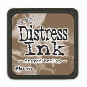 Inchiostro Distress Frayed Burlap