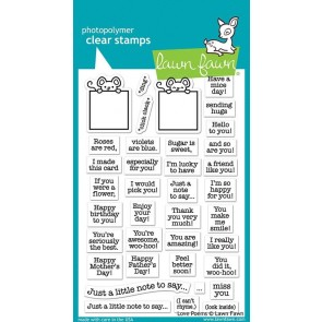 Love Poems - Lawn Fawn Stamp Set