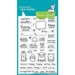 Say What? Spring Critters - Lawn Fawn Stamp Set