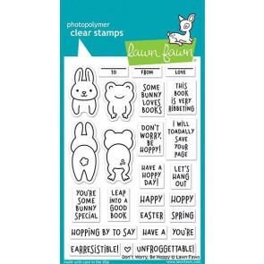 Don't worry, Be hoppy - Lawn Fawn Stamp Set