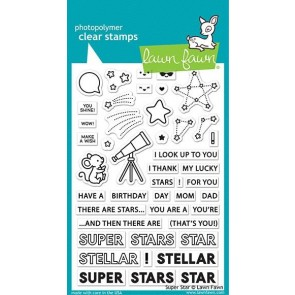 Super Star - Lawn Fawn Stamp Set