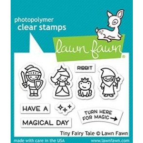 Tiny Fairy Tale - Lawn Fawn Stamp Set