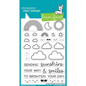 All the Clouds - Lawn Fawn Stamp Set