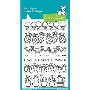 Simply Celebrate Summer - Lawn Fawn Stamp Set