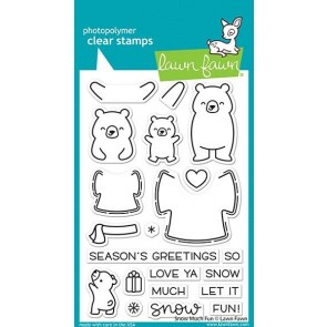 Snow Much Fun - Lawn Fawn Stamp Set