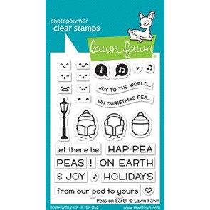Peas on Earth - Lawn Fawn Stamp Set