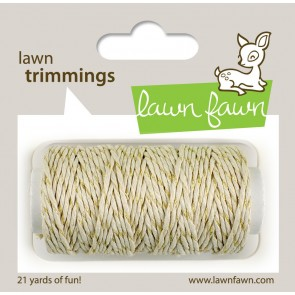 Cordoncino Lawn Fawn- Red sparkle