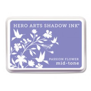 Passion Flower - Mid Tone - Hero Arts Shadow Ink