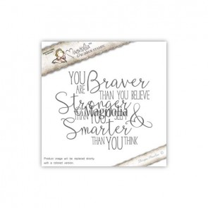 You Are Braver Background - Timbro Magnolia