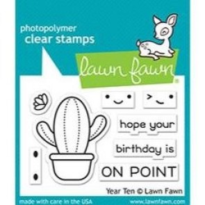 Year Ten - Lawn Fawn Stamp Set
