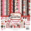 Be My Valentine Collection Kit - Echo Park paper pack 12x12