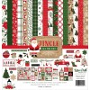 Jingle All The Way Collection Kit - Echo Park paper pack 12x12