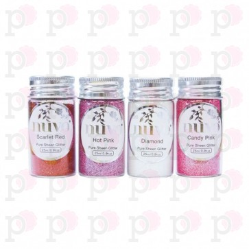 Cross My Heart - Pure Sheen Glitter - Set di Glitter Nuvo