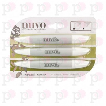 Organic Greens - Set Nuvo Alcohol Marker