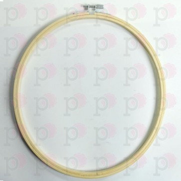 25 cm Embroidery hoop bamboo - Joy!Crafts