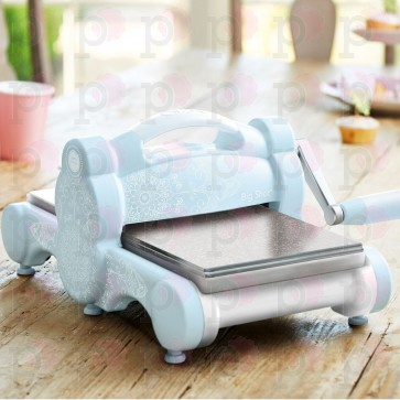 Sky Blue Sizzix Big Shot - Macchina fustellatrice (Limited Edition)