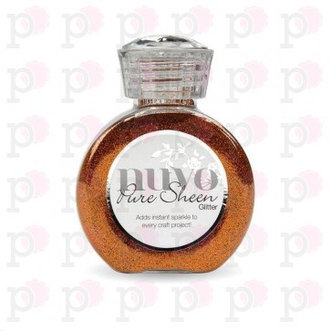 Spiced Apricot - Pure Sheen Glitter Nuvo