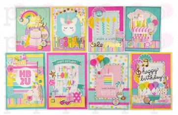 Magical Birthday by Simple Stories - Kit Crea le tue Cards!