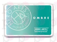 Inchiostro Hero Arts Ombre Mint to Green