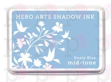 Dusty Blue - Mid Tone - Inchiostro Hero Arts Shadow