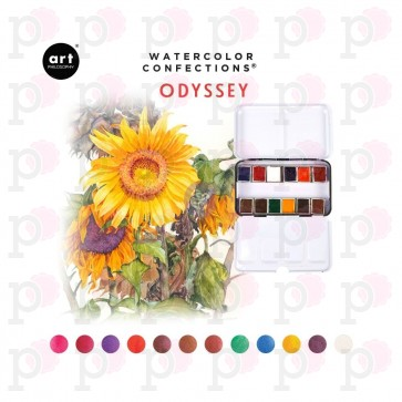 Odissey - Art Philosophy Watercolor Confections