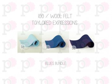 Blue Bundle - Feltro Taylored Expressions