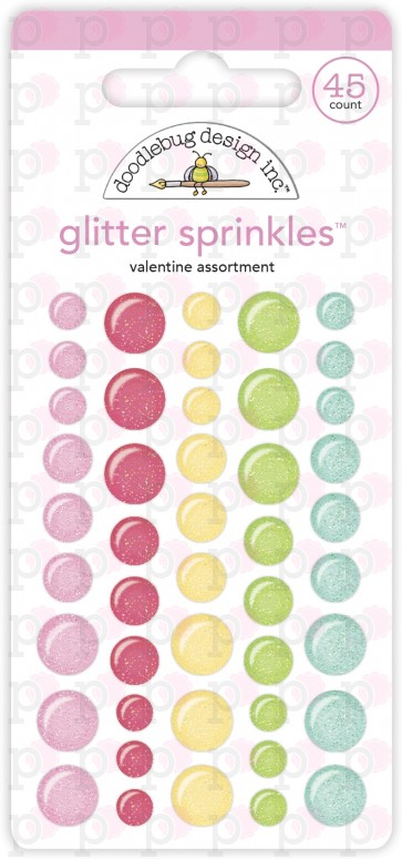 Valentine Assortment Glitter Sprinkles - Doodlebug