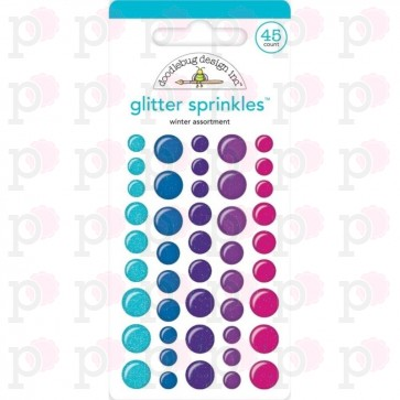 Winter Wonderland Glitter Sprinkles - Doodlebug