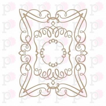 Rectangle - Elegant - Hot Foil Plate - Spellbinders