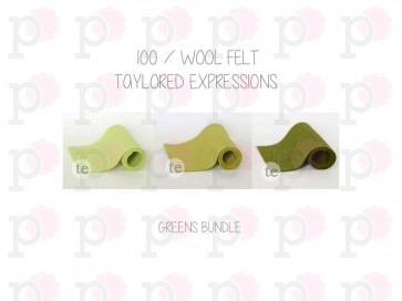 Greens Bundle - Feltro Taylored Expressions