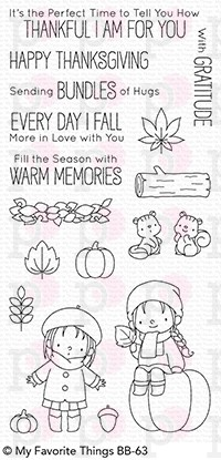 Fall Friends - Timbro My Favorite Things