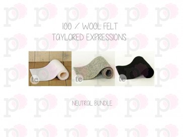 Neutrals Bundle - Feltro Taylored Expressions
