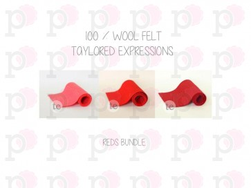 Reds Bundle - Feltro Taylored Expressions