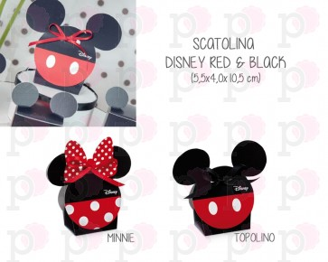 Scatolina Disney Red & Black (20 pezzi)
