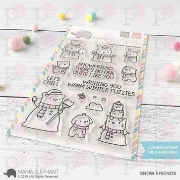 Snow Friends - Timbro Mama Elephant