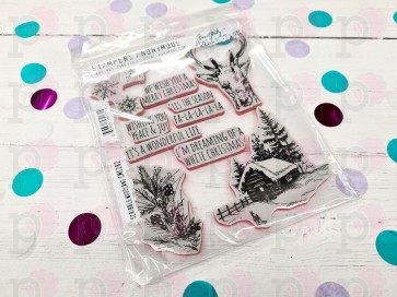 Scribble Woodland - timbro Stamper Anonymous - Usato