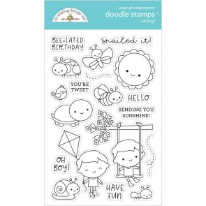 Oh! Boy - Timbro Doodlebug per cardmaking