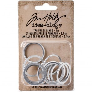"1"" Tag Press Ring - Idea-ology by Tim Holtz"