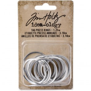1.25 Tag Press Ring - Idea-ology by Tim Holtz