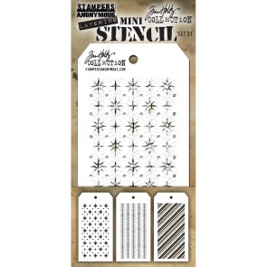 Set 31 - Layering Mini Stencil Set