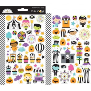 Candy Carnival Mini Cardstock Stickers - Doodlebug