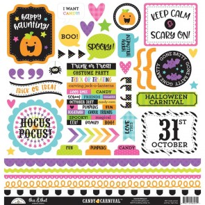 Candy Carnival This & That Stickers - Doodlebug