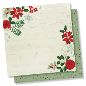 "Holiday Memories - Merry & Bright - Carta 12x12"" Simple Stories"