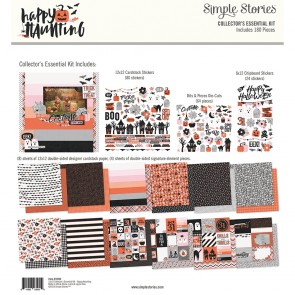 "Happy Haunting - Simple Stories Collector's Essential Kit 12""X12"""